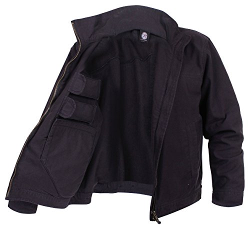 Rothco Lightweight Concealed Carry Jacket, L, Black