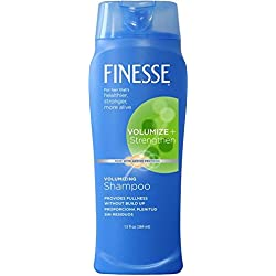 Finesse Volumize + Strengthen Volumizing Shampoo - 13oz - 6-Pack- Add Volume & Strength to Thin or Fine Hair for Fuller Looking Hair