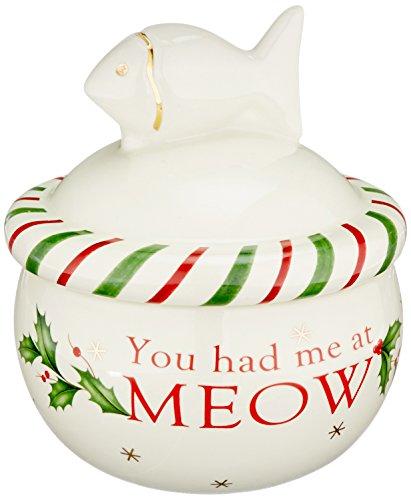 Lenox Holiday Cat Treat Jar ()