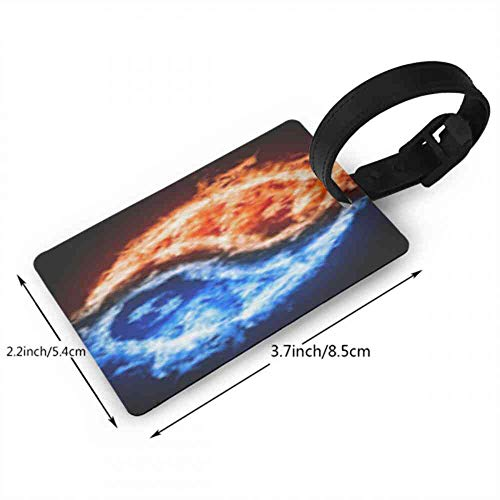 Luggage tag yin yang wallpaper hd 3d blue and red fire wallpaper decorate your desktop of yin yang wallpaper hd