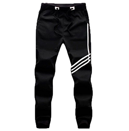 PFlex Mens Soccer Training, Gym, Running Pants - Joggers Tapered Fit. Blk, - Mens Fat Face Sale