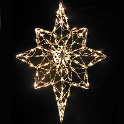 Outdoor Lighted Christmas Nativity Star Decoration - 5