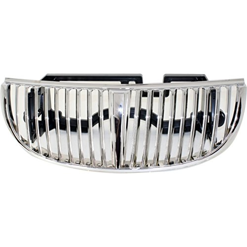 Diften 102 A6937 X01 New Grille Assembly Grill Chrome Lincoln Town