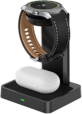 NEWDERY Wireless Charger Station, 2 in 1 Wireless...
