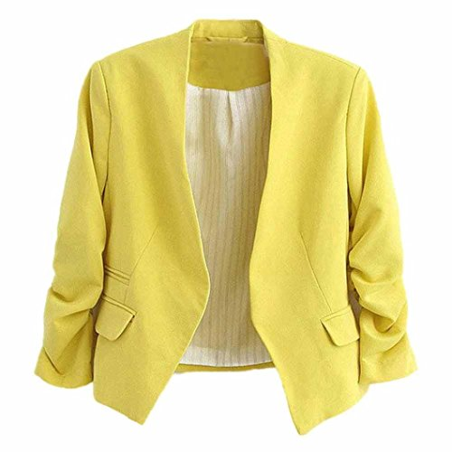 Puff Sleeve Jacket - 1