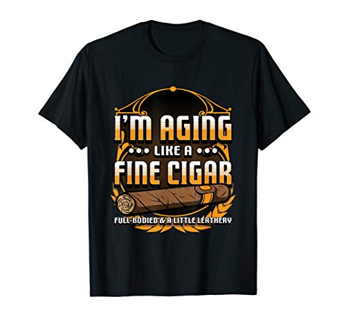 Humorous Smoke Cigar Shirt For Smoker & Cigar Lovers T-Shirt