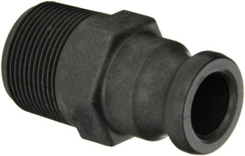 Banjo 125F Polypropylene Cam & Groove Fitting, 1-1/4 Male Adapter x NPT Male