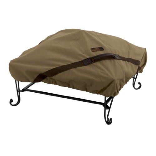 Lowest Price! Classic Accessories Hickory Square Fire Pit Cover