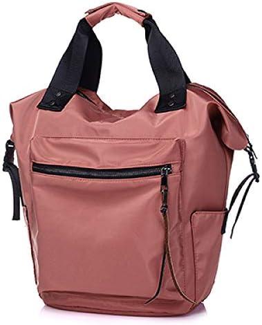 OIJSGP Damenrucksack wasserdichte Rucksack-Frauen-hohe Kapazitäts-Reise-Buch-Taschen für Teenager-Studenten Pink Satchel, dunkelrosa