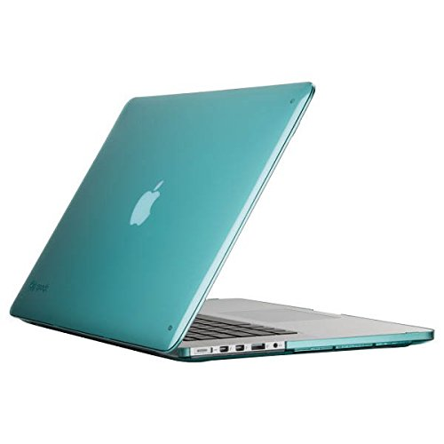 - Speck Products SmartShell Case for MacBook Pro with Retina Display 15-Inch, Mykonos Blue (SPK-A2570)