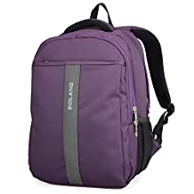 Bolang Professional 17.5 Inch Laptop Backpack 9063 (purple)