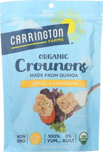 Carrington Farms Crounons Garlic & Parmesan 4.75 OZ (Pack of 1)