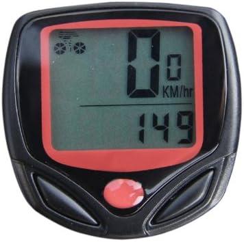 Cable de la Bicicleta del LCD del Ordenador velocímetro ...