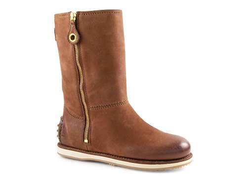 Car Shoe Women's Burnt Kid Leather Midcalf Booties Shoes ...