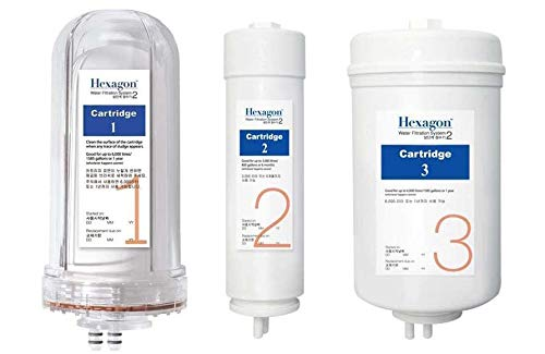 hexagon water filtration system 2 - 5