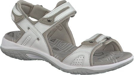 Mephisto Smooth Gladiator by Allrounder White Women's Elba Sandal Leather A1q5xS0wZ