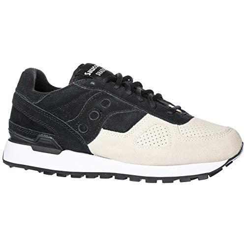 Black Originals Shadow Fashion Saucony Men's Sneakers Original Suede qOvzqBx0U