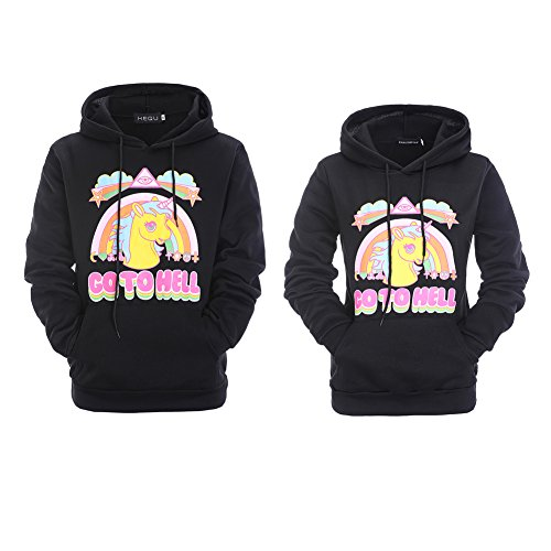 db333e7a0b outlet YJQ King and Queen Matching Couple Hoodies Pullover Hoodie  Sweatshirts