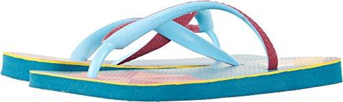 Havaianas Women's Flip Flop Sandals, Top Fashion,Petroleum,37/38 BR (7-8 M US) by Havaianas