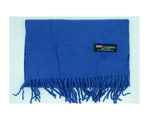 blue-scarves-warm-thick-winter-scarf-solid-scotland-wool-us-seller