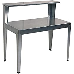 Poly-Tex 2-Tier Galvanized Greenhouse Bench/Work Bench