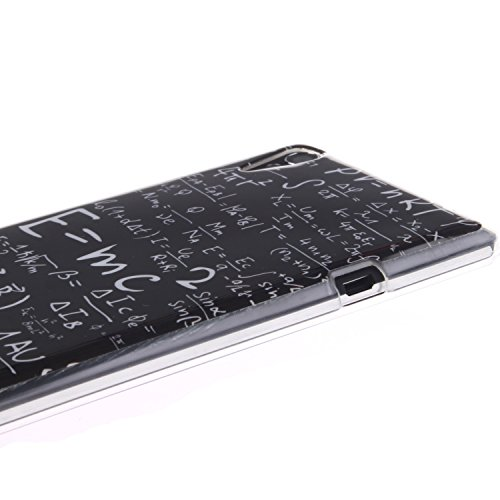Sony Xperia T3 Funda,Ligero a Prueba de Choques Flexible Ultra Fino Suave TPU Parachoque Carcasa MAGQI Tecnología IMD Diseño Impreso Vendimia Serie Patrón [Absorción de Impacto] Resistente a los Araña Mates