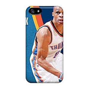 Durable Oklahoma City Thunder Back Case/cover For Iphone 5/5s