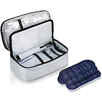 Amazon Com Insulpak Insulated Medication Travel Bag With