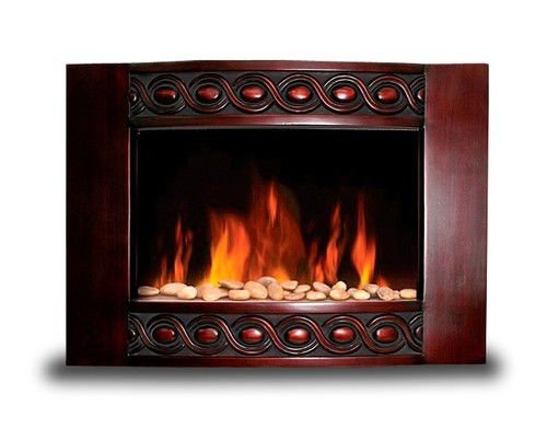 Diva Tranquility 1500W Wood Wall Mount Electric Fireplace...
