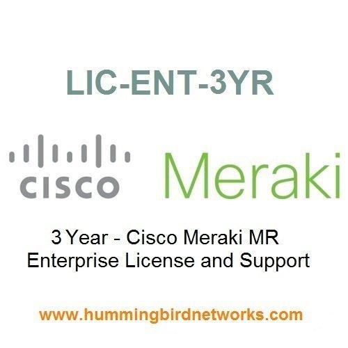 Meraki MR Enterprise License, 3 Years, Electronic Delivery by Cisco