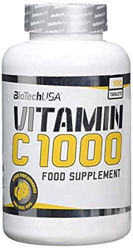 Biotech USA Vitamin C 1000 Vitaminas y Minerales - 1000 gr: Amazon.es: Salud y cuidado personal