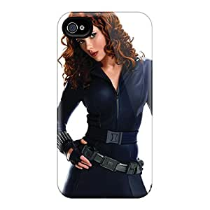MFtmVgj5841qEElE Tpu Case Skin Protector For Iphone 5/5s Black Widow Scarlett Johansson With Nice Appearance