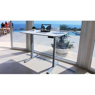 Autonomous SmartDesk - Height-Adjustable Standing Desk - Single Motor - DIY Gray Frame (Table top not included)