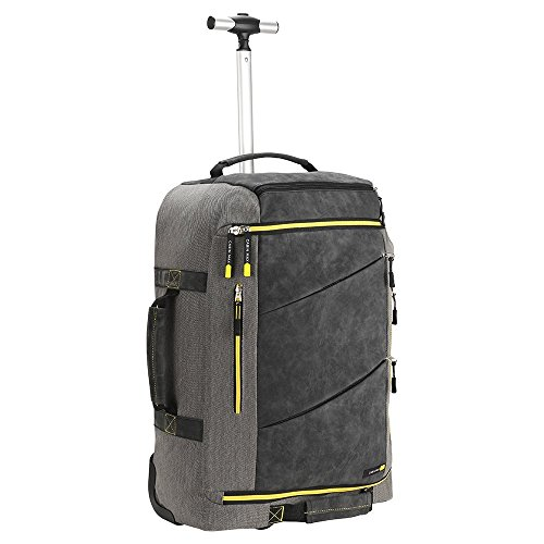 Cabin Max Manhattan 55x40x20 Hybrid Trolley Backpack Flight Approved hand...