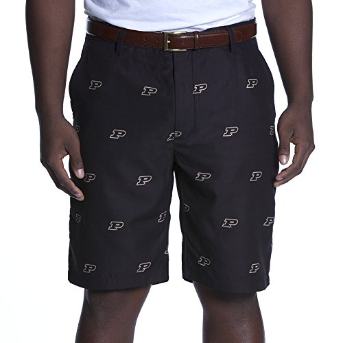 Ovation NCAA Adult Men's Game Changer Shorts, Purdue Boilermakers, 32, Black Purdue Boilermakers Bag