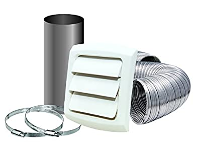 Dundas Jafine MLFVK48E Semi-Rigid Aluminum Dryer Vent Kit