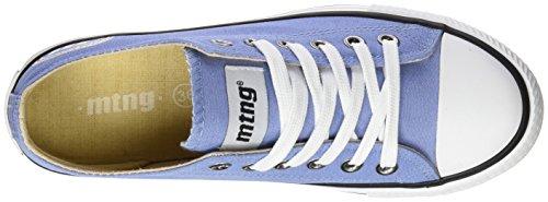 para MTNG Claro Canvas Deporte Attitude Turquesa Zapatillas Azul Mujer de Chica Bamba nwxpwq71g