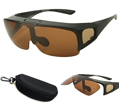 390b6e726ef Bestum Driving Glasses Wraparounds Polarized Fitover - Import It All