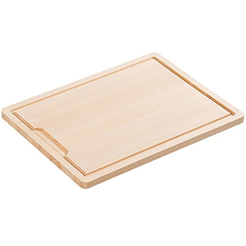 "Kesper 68102 Cutting board with juice rim 19.69"" x 14.17"" x"
