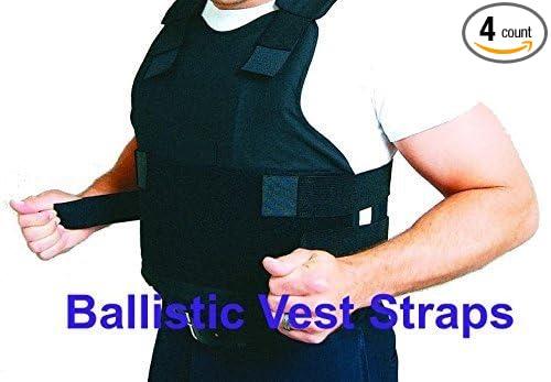 JTecGear Four Replacement Ballistic Vest Straps