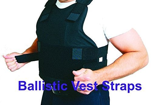 FOUR Replacement Ballistic Vest Straps