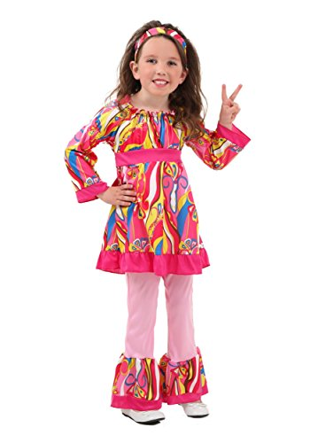 Toddler Disco Top and Bell Bottoms Costume 4T