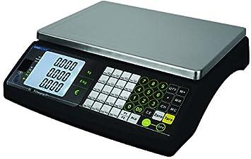 DAM Adam - Báscula Peso Premio bi-Echelon Alcance MAX 15 kg - 220 x 310 mm: Amazon.es