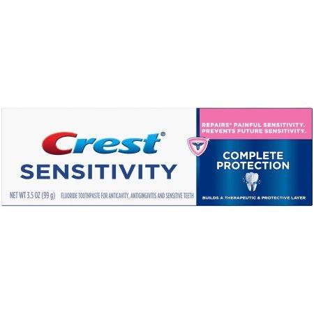 Crest Sensi-Repair & Prevent Fluoride Toothpaste - 3.5 oz, Pack of 3