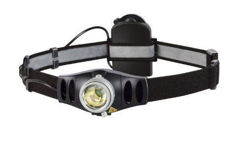 Hinged Flash Attachment (Coast LED Lenser 7498 Rechargeable Focusing LED Headlamp with VLT H7R)
