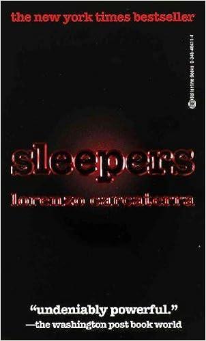 Sleepers Carcaterra Lorenzo 9782258041233 Amazon Com Books