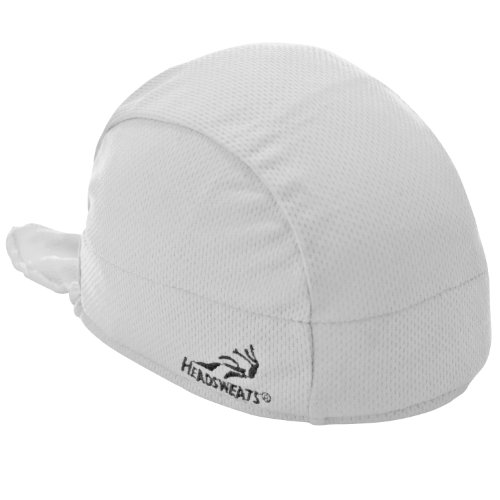 Headsweats Shorty Beanie and Helmet Liner, White, One Size