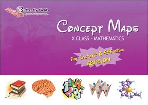 Concept Map Book.Buy Butterfly Fields 10th Class Mathematics Concept Map Book For
