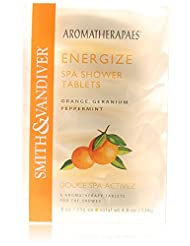 Aromatherapaes Energize Spa Shower Tablets  6  Tablets/4.8oz