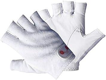 Tourna Mens Right Hand Half Finger Tennis Glove Large